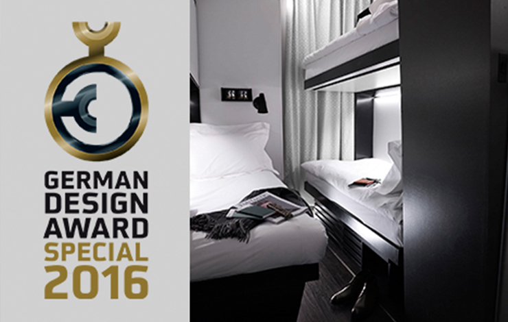 Snoozebox wins German Design Award 2016